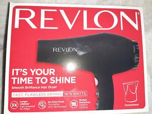REVLON Perfect Heat, Smooth Brilliance Styler 1875W Hair Dryer OPEN BOX