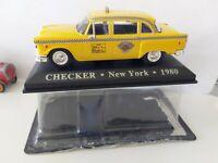 IXO 1/43 CHECKER NEW YORK 1980 NEUF EN BOITE