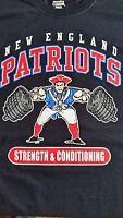 NEW ENGLAND PATRIOTS STRENGTH & CONDITIONING CHAMPION Tom Brady Large 20.5 x 26