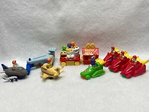 RONALD MCDONALD MEAL TOYS VARIOUS YEARS IN 90'S