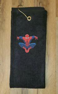 Spiderman Golf Bag Trifold Towel 16x26