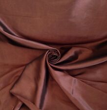 14 Metres Quality Prestigious Faux Silk Curtain Fabric Copper