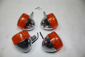 front rear turn signals + mounts FXLR Harley FXR 90th Anniversary 1993 EPS24051