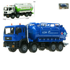 Vacuum sewage/waste water suction truck Model Toy 1:50 Scale Diecast 2 Color