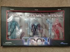 Tron Deluxe Set of 3 Figures - Sdcc Exclusive 2021 - Flynn, Tron, Sark
