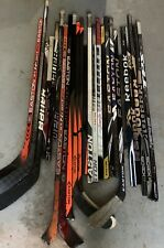 Pro Stock Assorted Hockey Stick Shafts & Broken Sticks (Read Description)