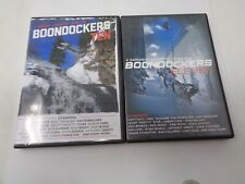 Boondockers DVD Lot - 10 & 11 Video Movie Winter Sports Extreme