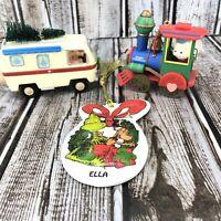Vintage Hallmark Keepsake Ornament 95 VW Bug Lustre Fame 62 Train Grinch
