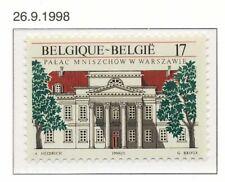 [153969] TB  **/Mnh    - [2782] Belgique 1998, Palais Mniszech à Varsovie, émiss