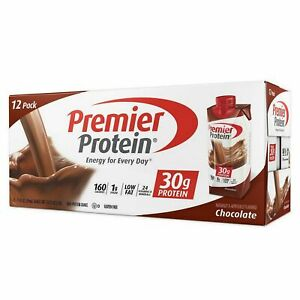 Premier Protein High Protein Shake Chocolate 11 fl oz 12 Pack