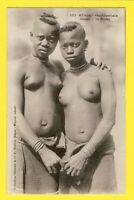 Sublime CPA WEST AFRICA Young topless Girls AFRIQUE Jeunes Filles SEINS NUS