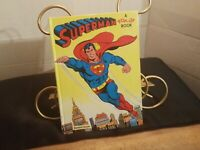 VINTAGE 1979 SUPERMAN POP UP BOOK.HAS A MINOR KNICK ON FRONT SPINE.EX COND FR SH