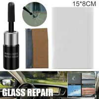 NEWEST Car Window Glass Crack Chip Resin Windscreen Windshield Repair Tools Kit