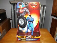"MAN OF STEEL, WHEEL WRECKER SUPERMAN, POWER ATTACK DELUXE, 6"" FIGURE, NIP, 2013"