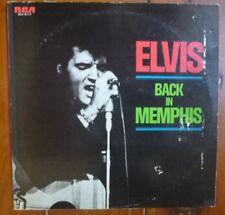 LP Elvis Back In Memphis 1973 RCA-6117 Japan Pressing