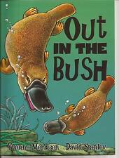 OUT IN THE BUSH Childrens Picture Counting Book Yvonne Morrison Platypus Animals