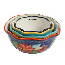 The Pioneer Woman Wildflower Whimsy Nesting Measuring Bowl Set 4 piece