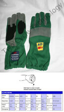 Green Go Kart Driving Gloves, Tony Kart, Margay, Briggs, LO206
