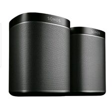 Sonos Play:1 Wi-Fi Speaker 2-Pack BLACK NEW