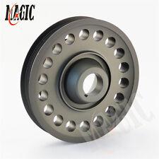 Light Weight Aluminum Crank Crankshaft Pulley For 93-01 Honda Prelude H22 VTEC