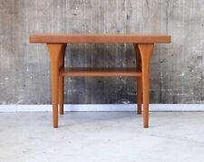 60er Henning Kjaernulf Teak Couchtisch Mid-Century 60s Coffee Table Vintage