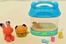 Frog 928 Crab 929 Six Piece Set Littlest Pet Shop Preschool Pretend Play Toys