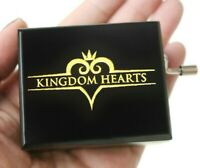 SANKYO BLACK ENGRAVE KINGDOM HEARTS HAND CRANK MUSIC BOX