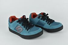 FIVE TEN FREERIDER Mountain Bike Shoes Blue Teal Men's Size US 7 EUR 39.5