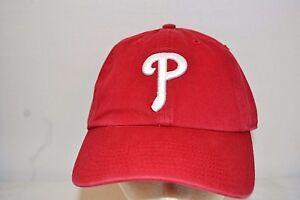 Philadelphia Phillies Red Baseball Cap  Relaxed Fit Medium