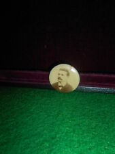 Rare Vintage Pin Button with Gentleman  Figure Pin