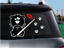 Heckscheibenwischer Katze Reflektierende  Katze Auto Aufkleber
