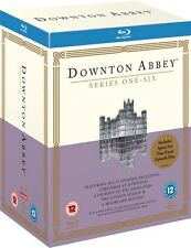 ❏ Downton Abbey Series 1-6 Blu Ray + Xmas Specials Complete Season ❏ 1 2 3 4 5 6