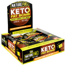 Nature Fuel Keto Bomb Mct Fat Burner Energy Snack 14 Servings Peanut Butter Cup