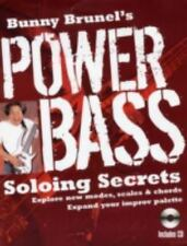 Bunny Brunel's Power Bass: Soloing Secrets: Explore New Modes, Scales & Chords:
