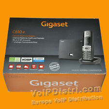 Gigaset C610 IP schnurlos VoIP Telefon, 6 SIP-Accounts, Analog, DECT, HD Voice