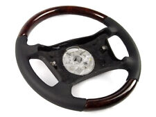 BMW E46 3 E39 5 E53 X5 Steering Wheel Walnut Wood