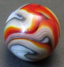 "Jabo Joker IV Multicolor Oxblood Flames 23/32"" Marble Lot RZ2 (near mint)"