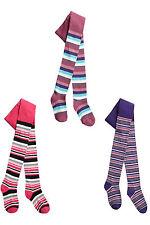 Girls' Cotton Blend Striped Socks & Tights (2-16 Years)