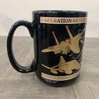Operation Desert Storm Hill AFB Coffee  Mug Kuwait Liberated Kapan-Kent Co. 22k