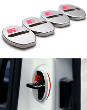4PCS S Logo Audi Q3 Q5 Q7 A3 A4 A5 A6 A7 A8 R8 TT Capot protection Acier surfin