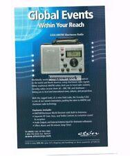 2003 ETON S350 AM/FM Shortwave Radio Vtg Print Ad