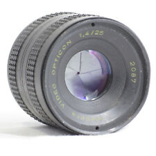 Meopta 1.4 25mm 2087 C-Mount *Fast Fifty* VGC BUT Focusing could be regreased!
