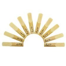 10pcs LADE E-Flat Alto Saxophone Reeds Strength 2.5 Reed Music Instrument Parts