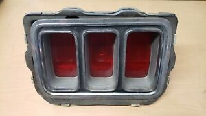 1970 Ford Mustang Tail Light LEFT SIDE used good condition not tested off car