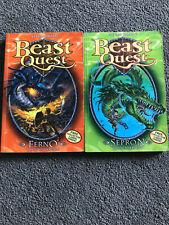 BEAST QUEST BOOKS SERIES 1 BOOK 1 & 2