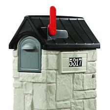 Secure Locking Mailbox Safe Lockable Security Residential Mail Storage