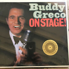 Buddy Greco ON STAGE! New SEALED Lp VINYL RECORD NOS CSRP 26116 EPIC Stereo