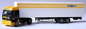 Iveco Eurotech Box Semitrailer Truck Spedition Zippert & Co 1:87 Herpa 143400