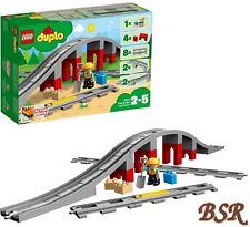 VORVERKAUF LEGO® DUPLO®: 10872 Eisenbahnbrücke & Schienen & 0.-€ Versand NEU OVP