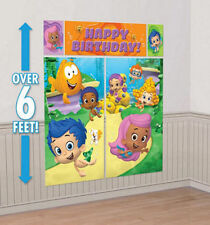 BUBBLE GUPPIES SCENE SETTER BIRTHDAY WALL BANNER DECORATION PARTY SUPPLIES